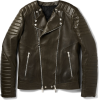 BALMAIN leather jacket - Giacce e capotti -