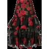 BAMBAH roses ruffle skirt - Gonne -
