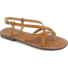 BAMBOO Chestnut Cable Sandal - Sandals -