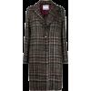BARBA checked single-breasted coat - Jacket - coats -