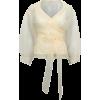 BAUM UND PFERDGARTEN organza blouse - Shirts -