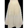 BAUM UND PFERDGARTEN organza skirt - Skirts -