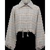 BAUM UND PFERGARTEN brown cropped jacket - 外套 -