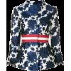 BAZAR DELUXE jacquard blazer - Trajes -