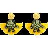 BEADED TASSEL STATEMENT EARRINGS Yellow - Kolczyki - $14.97  ~ 12.86€