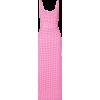 BERNADETTE Monica belted gingham stretch - sukienki - 370.00€
