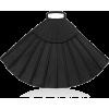 BEVZA black grand fan bag - ハンドバッグ -