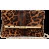 BIENEN-DAVIS PM leopard-print calf hair - Bolsas com uma fivela - £1.38  ~ 1.56€