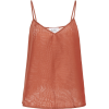 BIRD KNOLL silk cami top - Tanks -