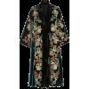 BIYAN floral velvet coat - Jacket - coats -