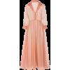 BLACK IRIS organza dress - Dresses -