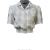 BLOOMSBURY blue & neutral checked - Shirts -