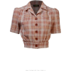 BLOOMSBURY brown & neutral checked - Camicie (corte) -