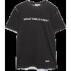 BLOUSE Printed organic cotton-jersey T-s - Shirts - kurz -