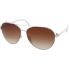 BLUE CROWN Aviator Sunglasses White - Sunglasses - $9.99