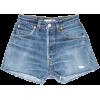 BLUE DENIM - JEANS SHORTS 23 Levi's - Spodnie - krótkie -
