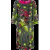 BLUMARINE floral print midi dress - Dresses -