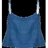 BONDI BORN linen cami top - Majice bez rukava -