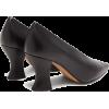 BOTTEGA VENETA Almond curved-heel leathe - Sapatos clássicos -