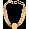 BOTTEGA VENETA Chain gold-plated necklac - Necklaces -