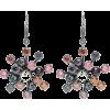 BOTTEGA VENETA Cubic zirconia silver ear - Orecchine -