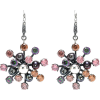 BOTTEGA VENETA Cubic zirconia silver ear - Серьги -