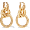 BOTTEGA VENETA Gold-tone earrings - Earrings - 570.83€  ~ $664.62