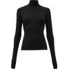 BOTTEGA VENETA High-neck crepe top - Swetry -