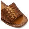 BOTTEGA VENETA  Intrecciato leather slid - Flats -