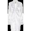 BOTTEGA VENETA Longline satin shirt - Long sleeves shirts -