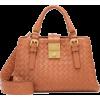 BOTTEGA VENETA Roma Mini leather tote - Bolsas pequenas -