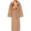BOTTEGA VENETA Satin-trimmed wool coat - Jacket - coats -