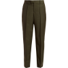 BOTTEGA VENETA  Tapered crepe trousers - Spodnie Capri -