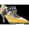 BOTTEGA VENETA antique gold calf Mary Ja - 经典鞋 -