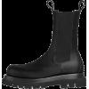 BOTTEGA VENETA black boot - Buty wysokie -