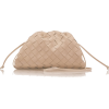 BOTTEGA VENETA leather pouch bag - バッグ クラッチバッグ -