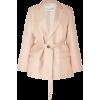 BOUGUESSA belted blazer - Jacket - coats -