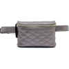 BOX SHAPED QUILTED BELT BAG-PT - Travel bags - $25.00