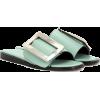 BOYY  Buckle leather sandals - Sandalen -