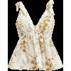 BROCK COLLECTION Tie-shoulder floral-pri - Camicie (corte) -