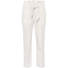 BRUNELLO CUCINELLI Cotton-blend trousers - Pantalones Capri -