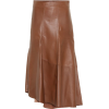 BRUNELLO CUCINELLI High-rise leather mid - Skirts -