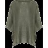 BRUNELLO CUCINELLI Linen and silk knitte - Cardigan -