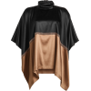 BRUNELLO CUCINELLI Silk Cape Top - Tuniche - 1.35€