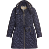 BURBERRY Detachable Hood Quilted Showerp - Jacket - coats -