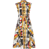 BURBERRY Archive Scarf print cotton dres - Vestiti -