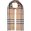 BURBERRY Check wool and silk scarf - Schals -