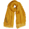 BURBERRY Embroidered Cotton Scarf - Scarf - $421.00
