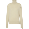 BURBERRY Logo Detail Merino Wool Silk Ro - Long sleeves shirts -