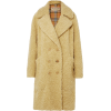 BURBERRY Oversized double-breasted wool- - 外套 -